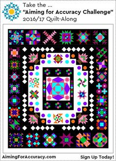 """Take the """"Aiming for Accuracy Challenge"""" – Quilt-Along"""