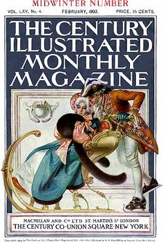 Feb 1902 The Century Illustrated Monthly Magazine - cover art by J C Leyendecker
