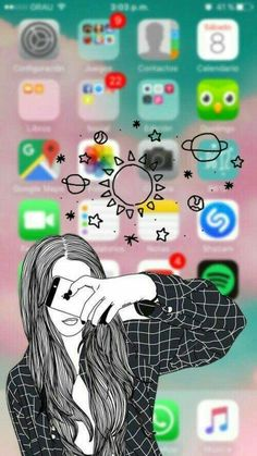 Girls rule the world wallpaper Emoji Wallpaper, Cute Disney Wallpaper, Tumblr Wallpaper, Wallpaper Iphone Cute, Screen Wallpaper, Cool Wallpaper, Cute Wallpapers, Wallpaper Quotes, Cute Backgrounds