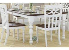 Sanibel White Dining Table