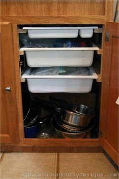 85 Cheap and Easy Ways to Organize Your RV Camper Van 5