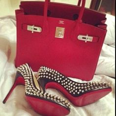 Christian Louboutin accessories @}-,