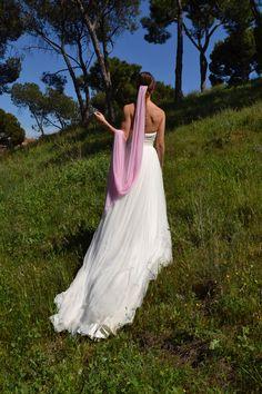 fd1bcacde6 Las 11 mejores imágenes de Velos de colores para novias