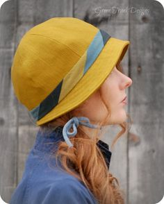 Mod Green Cloche Hat for Women by GreenTrunkDesigns on Etsy, $60.00