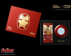Samsung Galaxy S6 edge Iron Man Edition is official!