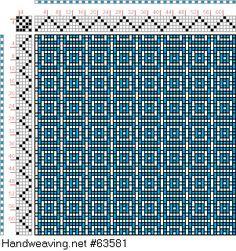 draft image: Figurierte Muster Pl. XXI Nr. 2, Die färbige Gewebemusterung, Franz Donat, 5S, 5T