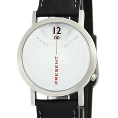 NOW--that's all that matters. And that's all you see in my Past, Present Future watch. The new, big, bold 40mm size makes the statement even more clear with super smooth vegan silicone or soft leather bands. $125 - great for that specially conscious guy or gals.