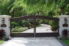 Wrought Iron Gate and custom fence