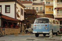 VW Bulli @ Ohrid - Mazedonien Macedonia #whileinbetween #vwbulli #ohrid