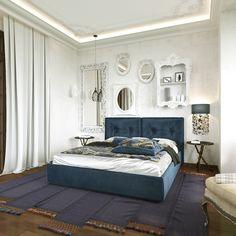 спальня в гостевом загородном доме