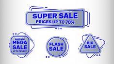 Sale banners set Premium Vector | Premium Vector #Freepik #vector #banner Freepik Vector, Sale Banner, Banners, Vector Free, Banner, Posters, Bunting