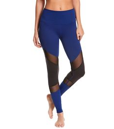 Beyond Yoga Deco Mirror Paneled Yoga Leggings at YogaOutlet.com – The Web's most popular yoga shop