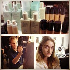 .@D+V Management | Thomas De Kluyver using Liz Earle cosmetics at the Amanda Wakeley show #thoma... | Webstagram