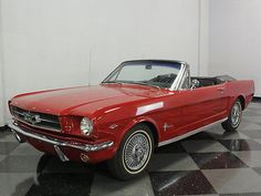 eBay: Ford: Mustang Convertible 1964 1/2 MUSTANG F CODE W/ CORRECT 260 V8, AUTO, PS, VERY COMFORTABLE… #ford #mustang usdeals.rssdata.net