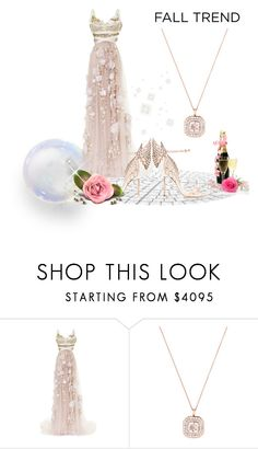 """""""Fall Jewelry Trend: Rose Gold"""" by emperormpf ❤ liked on Polyvore featuring Marchesa and Sophia Webster"""