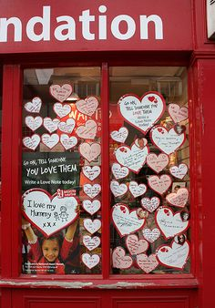 Happy Valentine's Day - geograph.org.uk - 1706688 - British Heart Foundation - Wikipedia