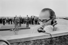 Rene Burri West Germany. Bonn. Visit of American President 1959.