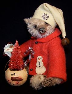 LESTER WIGGINS ON EBAY// A Great Christmas Bear by Brenda Power