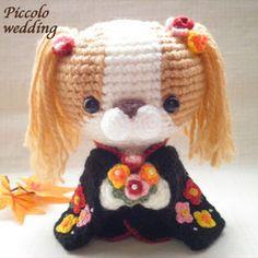 perro amigurumi pagina japonesa