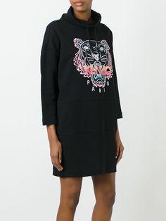 "Kenzo платье-толстовка ""Tiger"""