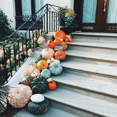 124 decorate your front porch for fall halloween decor fall front porch fall decor 6 Fall Home Decor, Autumn Home, Autumn Art, Autumn Aesthetic, Reno, Hello Autumn, Autumn Inspiration, Happy Fall, Fall Halloween