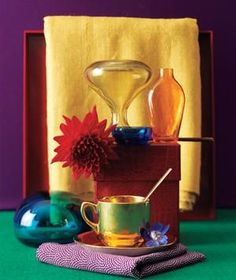 Jewel-toned decorating: Give any space in your home a rich, lush look with these intensely-colored paints and accents.