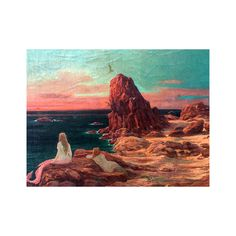 Aime Stevens Belgium Impressionist Painter Mermaids Watching the Sunset, Oil on canvas 24 x 32 inches… Travel Belgium, Impressionist, Mermaids, Oil On Canvas, Passion, Sunset, Painting, Art, Color