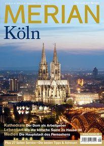 Der neue MERIAN Köln ist erschienen. Interessante Reportagen, auch einiges zu Architektur und Städtebau.