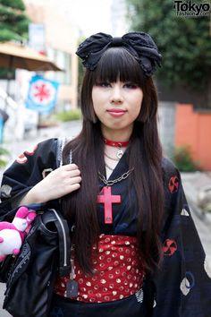 Yukata gothic style
