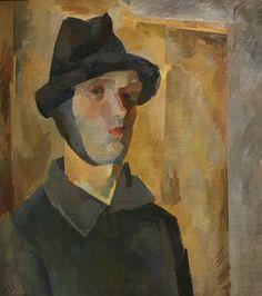Robert Falk. Self-Portrait with a bandaged ear. 1921