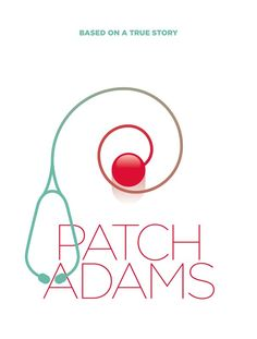 Patch Adams ~ Minimal Movie Poster by Pedro Vidotto Patch Adams, Cartoon Posters, Touching Stories, Minimal Movie Posters, Film Studies, Alternative Movie Posters, Stand Up Comedy, Love Movie, Minimalist Poster