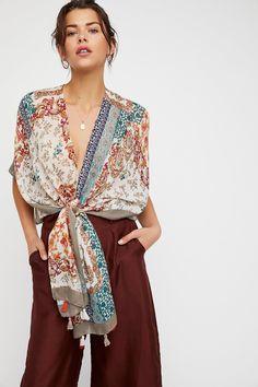 Strange Magic Patchwork Kimono   Free People