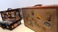 Was ist nur aus den schönen alten #Koffern mit Reiseaufklebern geworden. Zeit für eine #Renaissance?