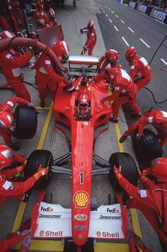 Ferrari F2001 - #1 Michael Schumacher 2001