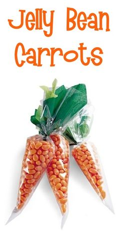 Jelly Bean Carrots in Crafts, Easter