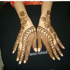 "422 Likes, 2 Comments - We Are Here To Inspire You (@hennalookbookin) on Instagram: ""Henna @husena_2566"""