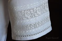 White Embroidery, Hand Embroidery, Drawn Thread, Costumes, Handmade, Color, Lace, Crocheting, Hardanger Embroidery