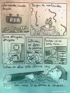 Satirinhas | Tirinhas, quadrinhos, arte e diversão
