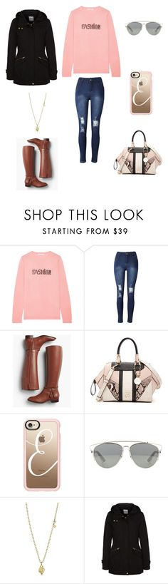 """""""Sans titre #1748"""" by wali-emna ❤ liked on Polyvore featuring Bella Freud, Talbots, GUESS, Casetify, Temple St. Clair and ONLY"""