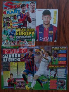 Neymar Junior mini poster, clippings Magazine | eBay