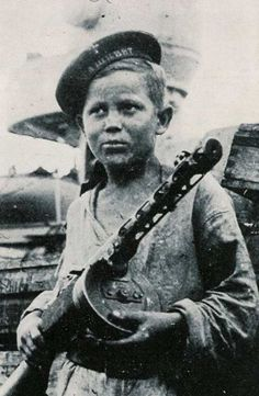 Russian child fighter.