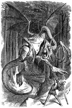 Jabberwocky - Lewis Carroll - Wikipedia, the free encyclopedia