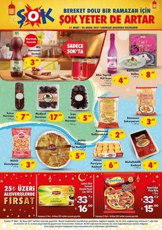"""31 Mart ve 6 Nisan 2021 tarihleri arasında ŞOK marketlerde geçerli """"Haftanın Fırsatları"""" aktüel broşürü 8 sayfadan oluşmaktadır. Şok Market broşüründe bu hafta Sinbo Elektrikli Çay Makinesi, Tost Makinesi, Yumurta Pişirme Makinesi, Kiwi Doğrayıcı Rondo, Elektrikli Cezve, Homend Türk Kahvesi Makinesi, Motte Mini Fırın, başta olmak üzere tencere, tava, bardak vb. pek çok mutfak gereçleri, gıda, giyim ve temizlik ürünleri yer almaktadır. #şokmarket #şok #aktüelürünler #katalog #indirim #broşür Kiwi, Cereal, Mart, Marketing, Box, Snare Drum, Breakfast Cereal, Corn Flakes"""