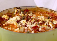 Baked Shrimp with Tomatoes and Feta Recipe : Ellie Krieger : Food Network - FoodNetwork.com