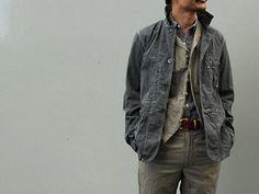 ENGINEERED GARMENTS(エンジニアードガーメンツ)2010SS ジャケット - メンズファッションブログ【ワードローブログ】