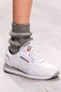 Ashish Spring 2013 Ready-to-Wear Detail subtle grey sequin sock