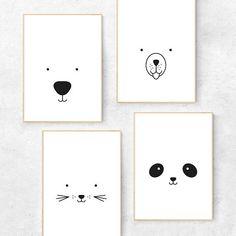Black and white nursery prints drawing bear Bear print - Bear nursery print - Bear nursery decor - Bear nursery art - Minimalist nursery art - Scandi nursery - Scandinavian nursery Nursery Prints, Nursery Wall Art, Nursery Decor, Nursery Drawings, Room Decor, Nursery Ideas, Monochrome Nursery, White Nursery, Panda Nursery