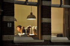 Looking through windows in Amsterdam via a Photography Project....