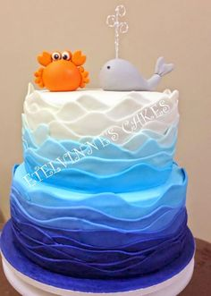 Etelvinne's Cakes: BOLO FUNDO DO MAR / sea cake