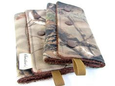 Camouflage Teething Pads Drool Pads for by ChristinesKnitandSew, $17.50